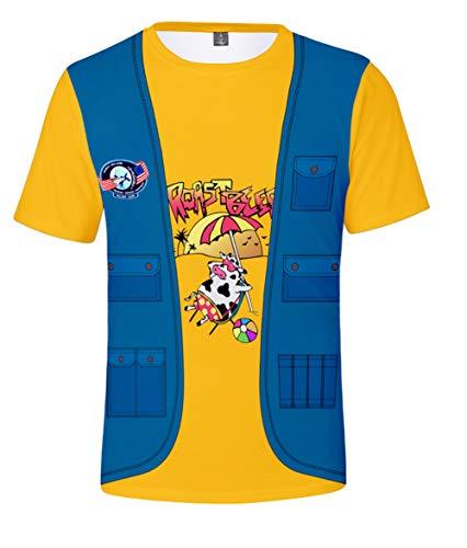 JOAYIN Bambini Maglietta Stranger Things 3 T-Shirt Costume di Personaggi Eleven Dustin Manica Corta per Ragazzo e Ragazza