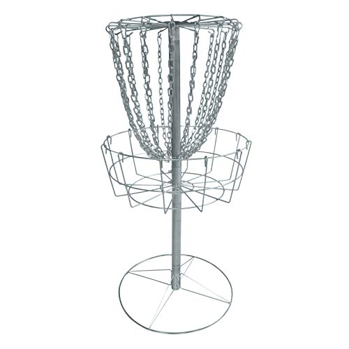 MB-THISTAR Disc Golf Catcher Basket Target Portable Steel Chain Practice Frisbee