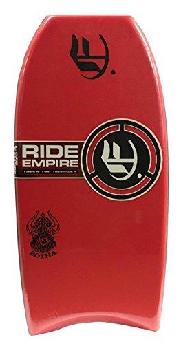 "Empire Bodyboards Mini Botha PP Bodyboard, 36"", Red"