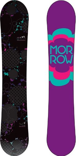 MORROW SENECA 148cm Rocker Allmountain Women Snowboard 12/13