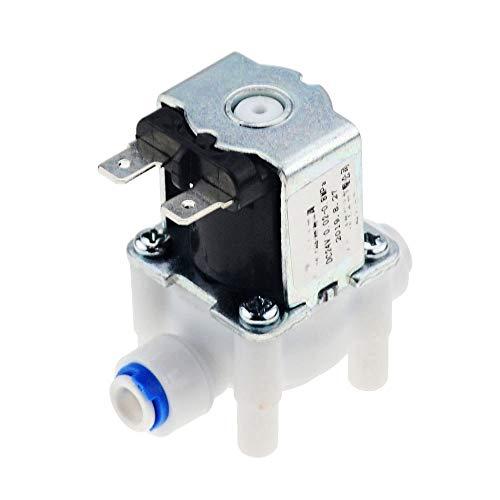 Valvula solenoide Normalmente cerrado interruptor de la válvula electromagnética eléctrica magnético DC 12V de entrada de agua de flujo de 1/4