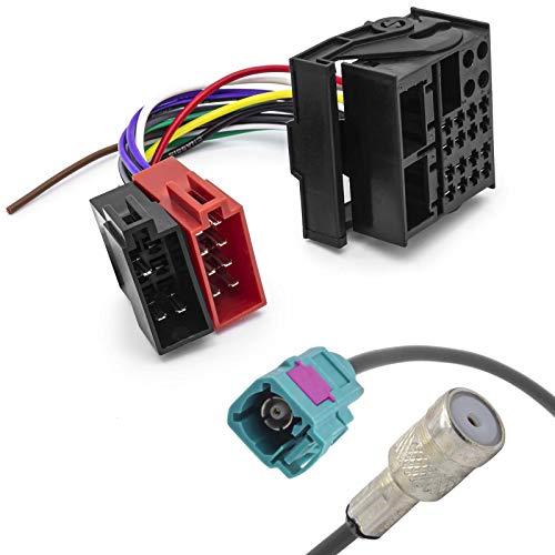 Radio Antennenadapter KFZ ISO Adapter Kabel Quadlock MOST Stecker für VW RCD 200
