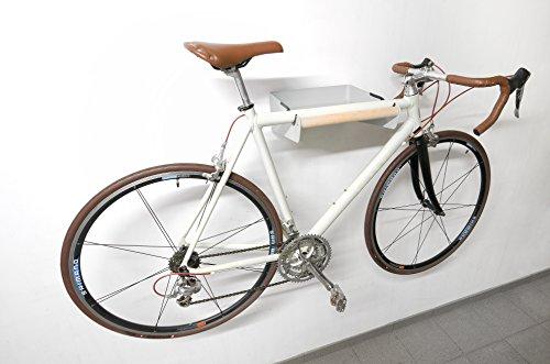 Vitaerc Bike-Butler Garderobe Hakenleiste Fahrrad-Wandgarderobe Fahrradhalterung zur Aufbewahrung der alltäglichen Gegenstände, der Kleiderschrank für den Flur