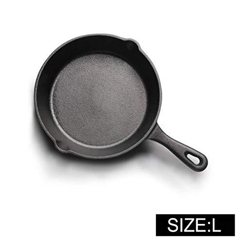 DHXYII Pancast Iron anti-aanbakpan voor inductie met gas egg pannenkoekenpan, keukengereedschap en eettoestellen 20 cm.