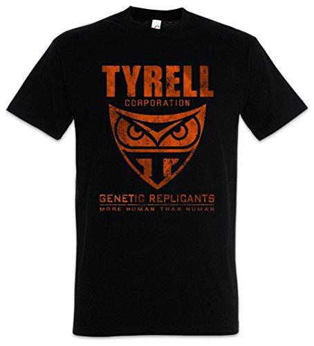 Urban Backwoods Tyrell Corporation Camiseta De Hombre T-Shirt Negro Talla L