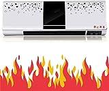 MEEY 2KW Calentador PTC del Ventilador, acondicionador de Aire portátil de calefacción Ventilador montado en la Pared de convección Calentador con 3 configuraciones de Calor, el Momento