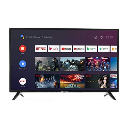 """Level 32"""" Pouces Android 9.0 Smart TV 80cm HD LED Téléviseur (Google Assistant, Google Play Store, Prime Video, Netflix) Chromecast intégré, Triple Tuner, WiFi, Bluetooth [Classe énergétique A]"""