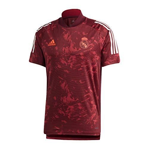adidas Real EU TR JSY Camiseta, Hombre, Granat/Buruni, 3XL