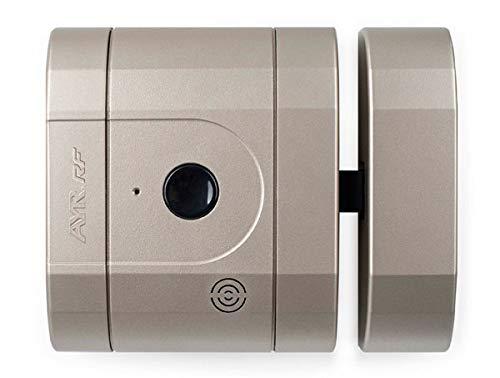 AYR Cerradura Seguridad Invisible RF niquel Mate INT-Lock, 0