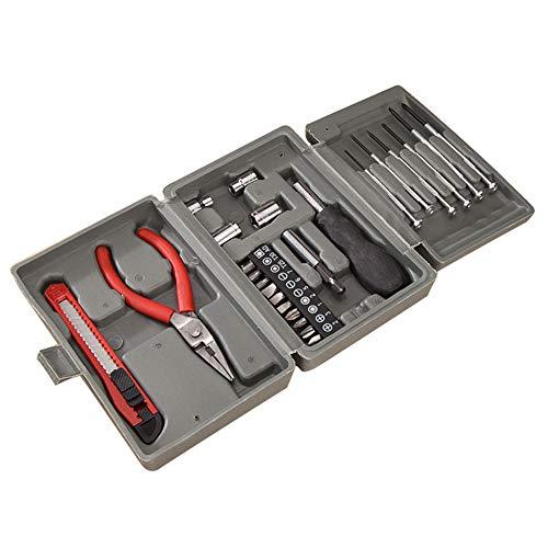 Ariymap Multi Haushalts-Werkzeugkoffer 24-Teilige Werkzeugset Werkzeugsatz Diy Kits Set Umfassen...