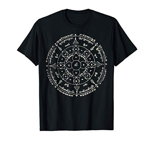 Sak Yant Thai Tattoo Paed Tidt Eight Direction Thailand Gift T-Shirt