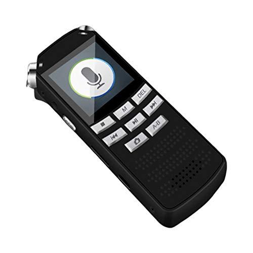 WEHQ Mini Grabadora De Voz Bolsillo Un Botón Interruptor Cámara Grabación 720p HD Lente Conexión OTG AB Repetición Apagado Automático Guardar