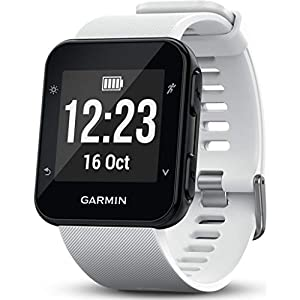 Garmin Forerunner 35 GPS Running Watch with Wrist-Based Heart Rate and Workouts - White