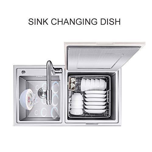 professionnel comparateur Mini lave-vaisselle – Économisez de l'argent avec le mini-lave-vaisselle RHG avec vibrations ultrasoniques… choix