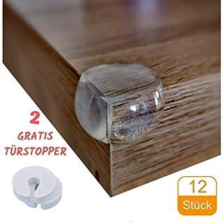 f/ür Tisch usw wei/ß und Kindersicherheits-Set mit 2 x 2 m Kantenschutz und 8 St/ück Eckenschutz aus Schaumstoff safety4family Baby