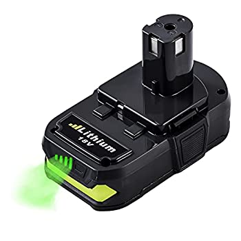 2.5Ah 18Volt Replacement Battery for Ryobi 18V Lithium Battery ONE+ P102 P103 P104 P105 P107 P108 P109 P190 P191 P122
