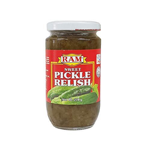RAM - Sweet Pickle Relish - Pepinillos Dulces en Conserva - Producto de Filipinas - 270 Gramos