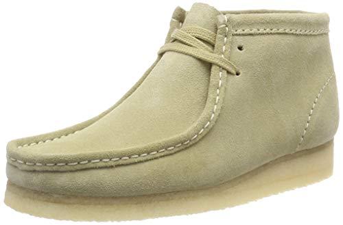 Clarks Originals Dames Wallabee Boot. Enkellaarsjes, Beige (Maple Suede-), 35,5 EU