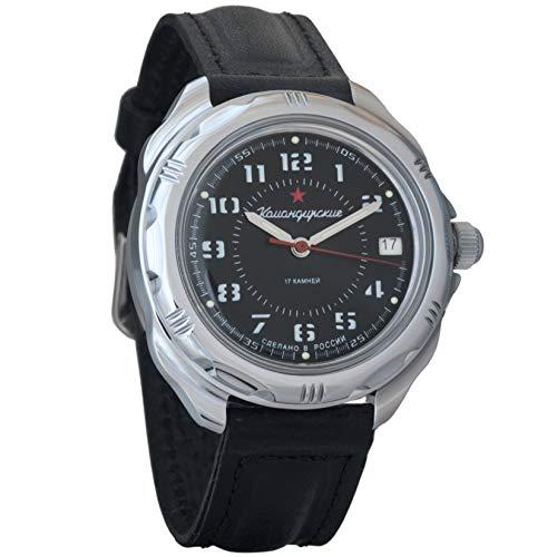 Vostok Komandirskie 2415211186Ruso Militar reloj mecánico