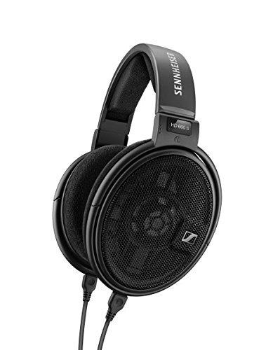 Sennheiser HD 660 S - HiRes Audiophile Open Back Headphone (Renewed)