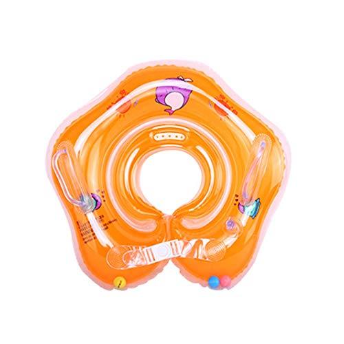 fITtprintse Collare Neonato Collare Neonato Ispessimento Anello di Nuoto per Bambini Anello di Sicurezza per Bambini Lifebuoy