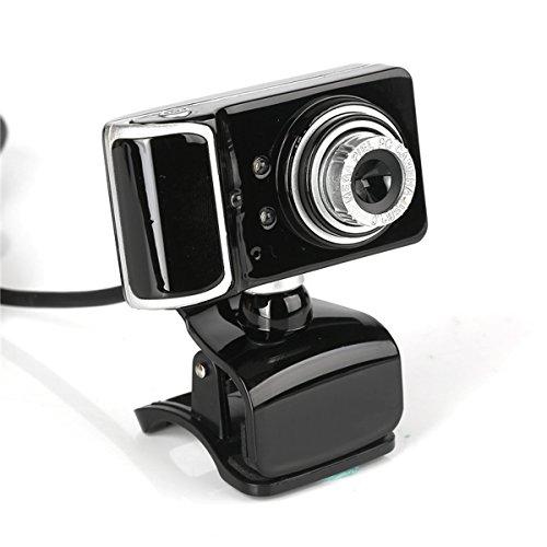 Zmsdt Cámara Web USB, cámara para PC MENGGOOD480P HD Cámara Web incorporada para micrófono con cancelación de Ruido Cámara Plug and Play para chatear en línea Grabación de Video por Llamada