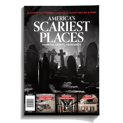 Centennial Media America's Scariest Places - Hauntings, Ghost Stories, Supernatural Phenomenon's, and So Much More - Featuring Locations Such As Alcatraz, Amityville, and Sleepy Hollow