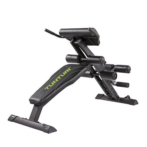 Tunturi CT80 Rückentrainer & Bauchtrainer/Core Trainer/Hyperextension - Klappbar, für zuhause