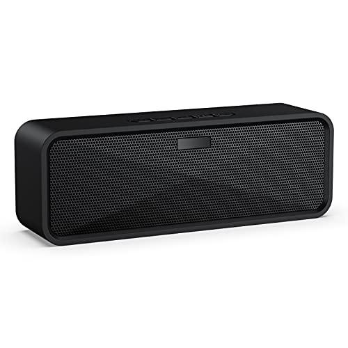 Altavoz Bluetooth Portátil, Altavoz Bluetooth Inalámbrico Estéreo Sonido de Bajo Bluetooth 5.0 Manos Libres Modo AUX Tarjeta TF USB para Samsung Huawei XiaoMi Sony etc