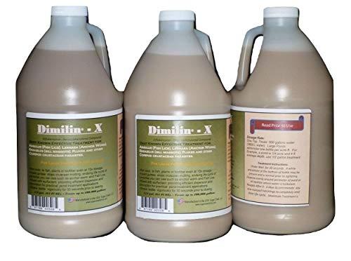 SOBAKEN Dimilin-X Koi & Goldfish Treatmen 1/2 Gallon Anchor Worm Fish Lice Flukes diflubenzuron