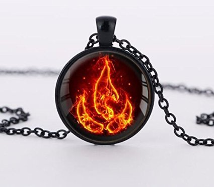 Jewelry tycoonAvatar the Last Airbender Necklace Fire Nation Pendant