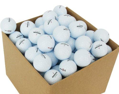 Second Chance Golf Lakebälle Bridgestone 100 Premium Grade A, weiß, PRE-100-BOX-BRI
