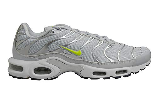 Nike Baskets Air Max Plus TN, - Pure Platinum Grey Volt White - Größe: 42 EU