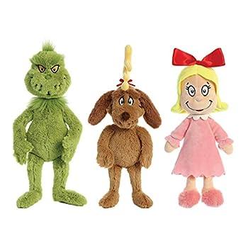 Aurora The Grinch & Friends   18  Grinch - 18  Max - 12  Cindy-Lou Who