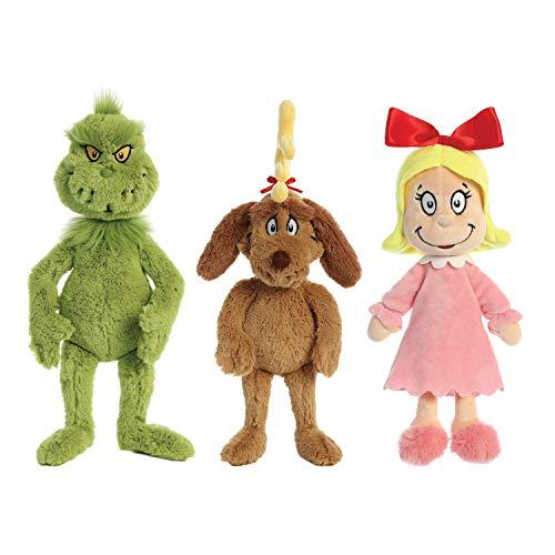 Aurora The Grinch & Friends : 18' Grinch - 18' Max - 12' Cindy-Lou Who