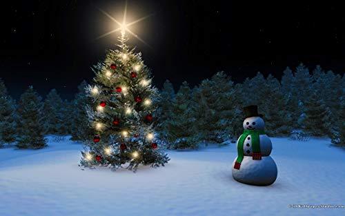 Niños Puzzle 500 Piezas Árbol De Navidad Con Muñeco De Nieve Adultos De Madera Jigsaw Puzzles Juego Clásico Puzzle Toys Puzzles
