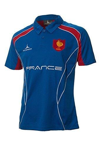 Olorun Rugby-Shirt, Frankreich, Rugby-Fans, Poloshirt S–XXXXL, M