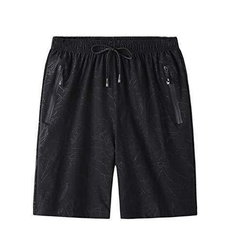 JJSPP Talla Grande 6XL 7XL 8XL Men's Shorts de Secado rápido Verano Respirable Ropa de Deporte Jogger Playa Pantalones Cortos Pantalones Cortos Gimnasios Pantalones Cortos Fitness