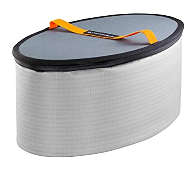 8070168 Wilderness Systems Oval Orbix Hatch Cooler for Kayaks, Grey by Confluence Accessories