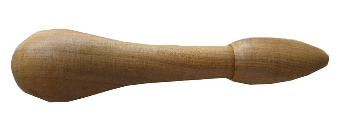 甘くするジャンクション率直な家庭用ペディキュアフットポイントスティック木製マッサージハンマー、N5