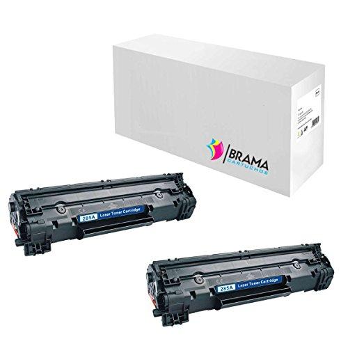 Bramacartuchos - 2 x Cartuchos compatibles HP LaserJet CE285A M121nf, M1130, M1132, M1210, M1212, M1212nf, M1213, M1217nfw, M1217, P1100, P1102W, P1102, PRO M1130, PRO M1132 MFP, PRO M1210 MFP, PRO M1212 NF, PRO M1213 NF, PRO M1217, PRO P1100, PRO P1102