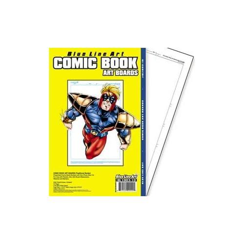 Amazon com: Regular Comic Book Art Board: Office Products