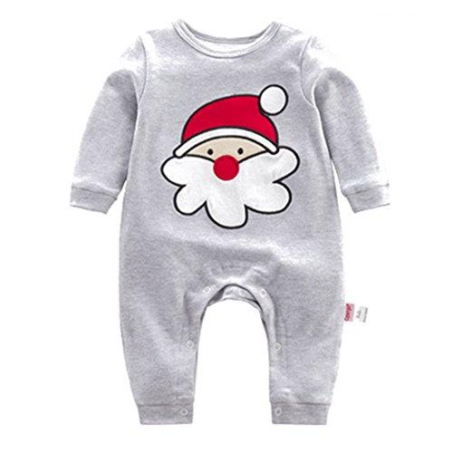 WEIMEITE Navidad Mamelucos del Bebé de Santa Claus Osos Overoles Mono Infantil Ropa de Bebé recién Nacido Niño Niña Festival Ropa para Regalos