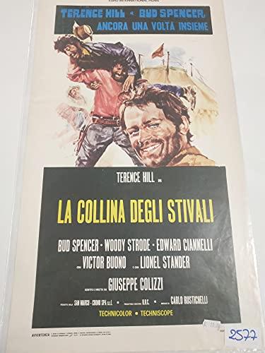 Locandina – La colina de las botas – Giuseppe Colizzi – Bud Spencer