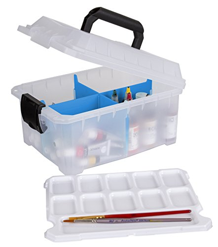 ArtBin Sidekick Art and Craft Supply Storage with Paint Pallet Tray