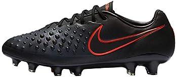 Nike Men s Magista Opus II FG  Black Total Crimson   6.5