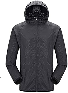 BEESCLOVER Quick-Drying Summer Outdoor Camping Jacket Plus Hiking Running Waterproof Sunscreen Clothing