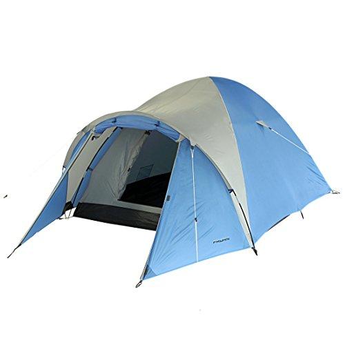 Fridani DSB 3 man camping tent koepeltent waterdicht groot met voortent ventilatie muggennet