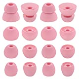 ALXCD Eartips for BeatsX in-Ear Headphone, 8 Pair S/M/L & Double Flange Durable Soft Silicone Replacement Earbud Tips,...