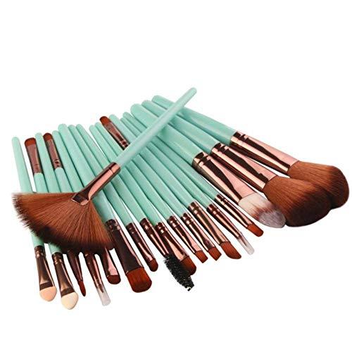 OPSBNWEUYS 18pcs / kit pinceaux de Maquillage Ensemble Ombre à paupières Sourcils Eyeliner Cils lèvres Fond de Teint Puissance cosmétique Maquillage Brosse Outil de beauté